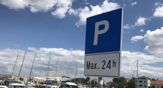 Obavijest o naplati parkiranja na javnim parkiralištima na području Općine Preko